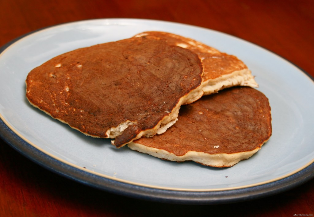 So good and not crumbly like other coconut flour pancakes!