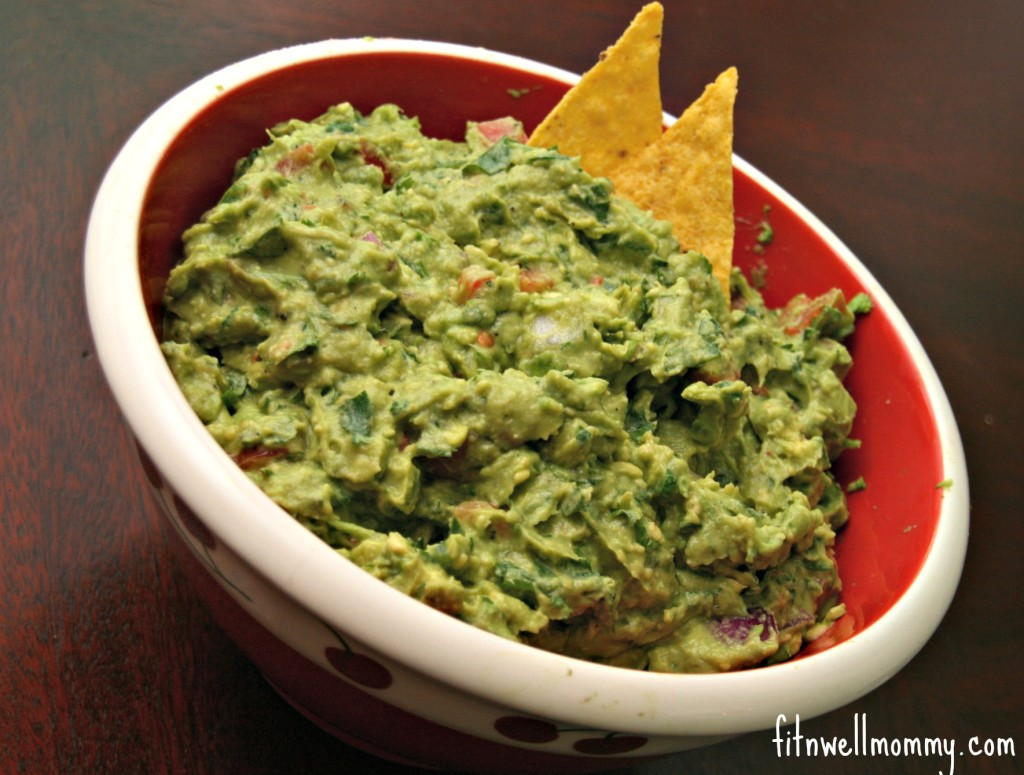 It is so hard to not stop eating chips and guacamole!
