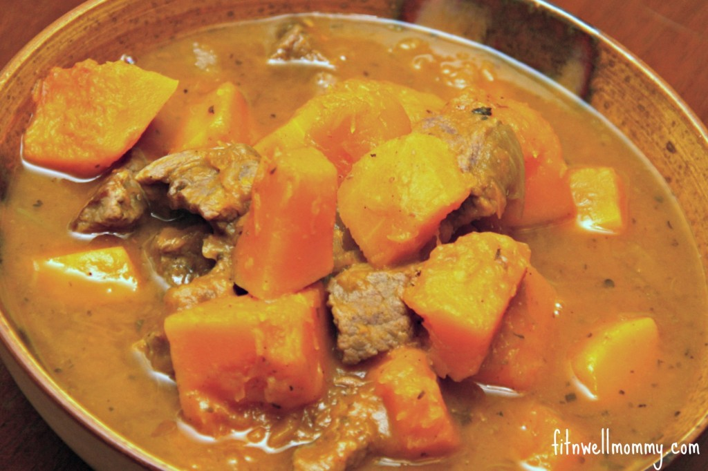 Slow-Cooker Savory Butternut Squash Stew