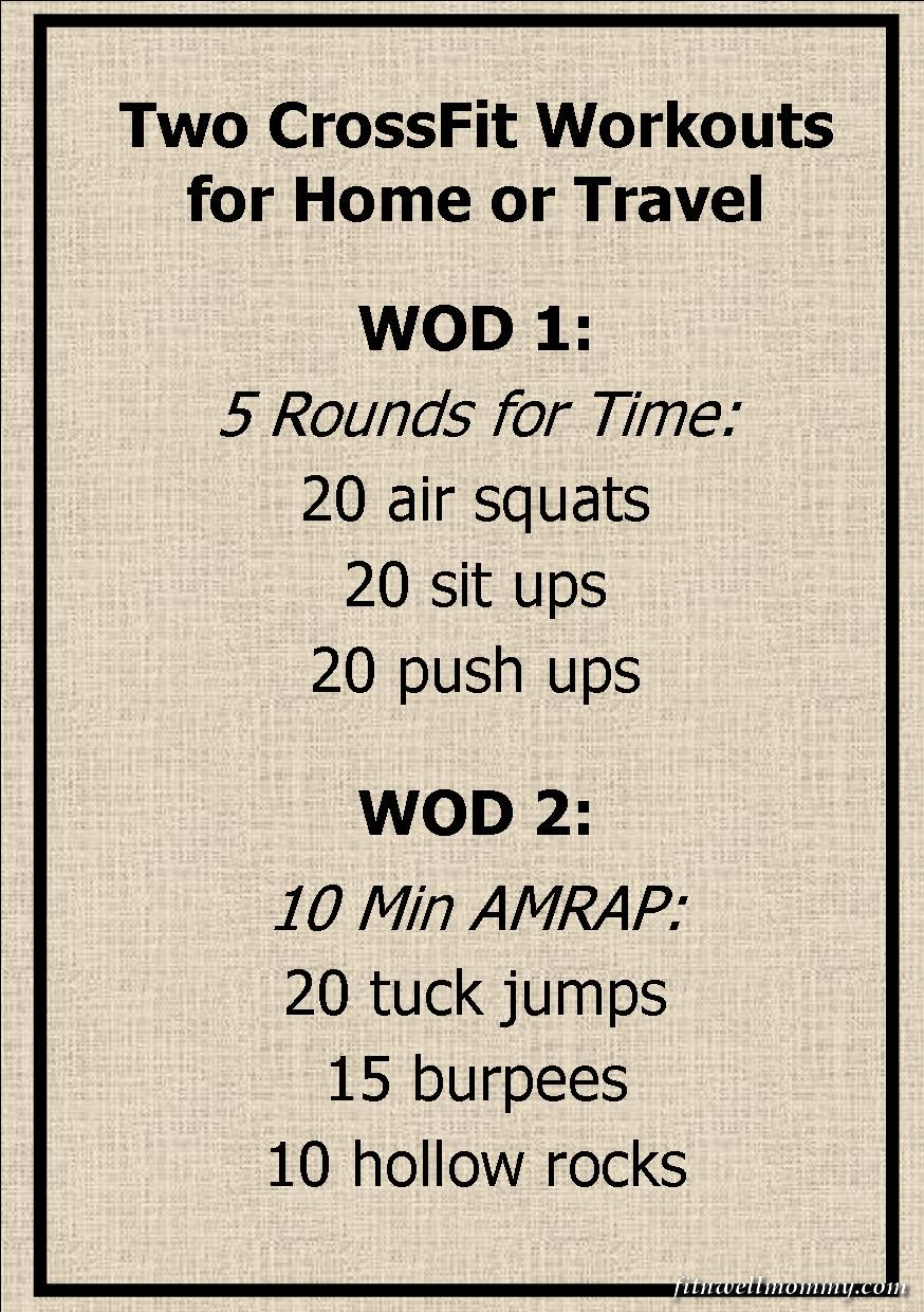 Crossfit Home Or Travel Wod 13