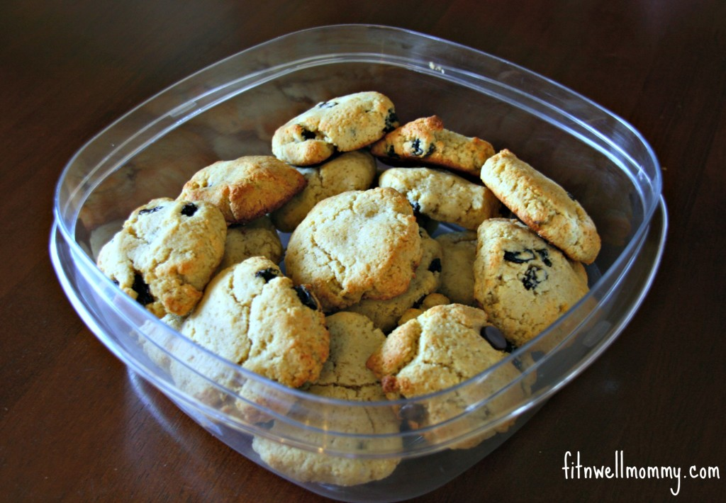 Paleo Chocolate Chip Protein Cookies