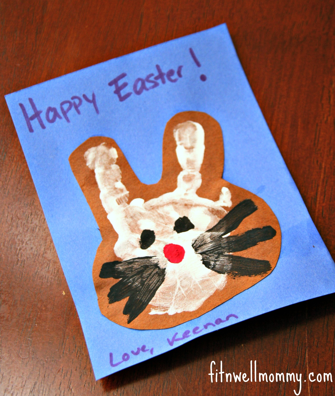 Kids Easter Crafts Deliciously Fit – Easter Cards for Children