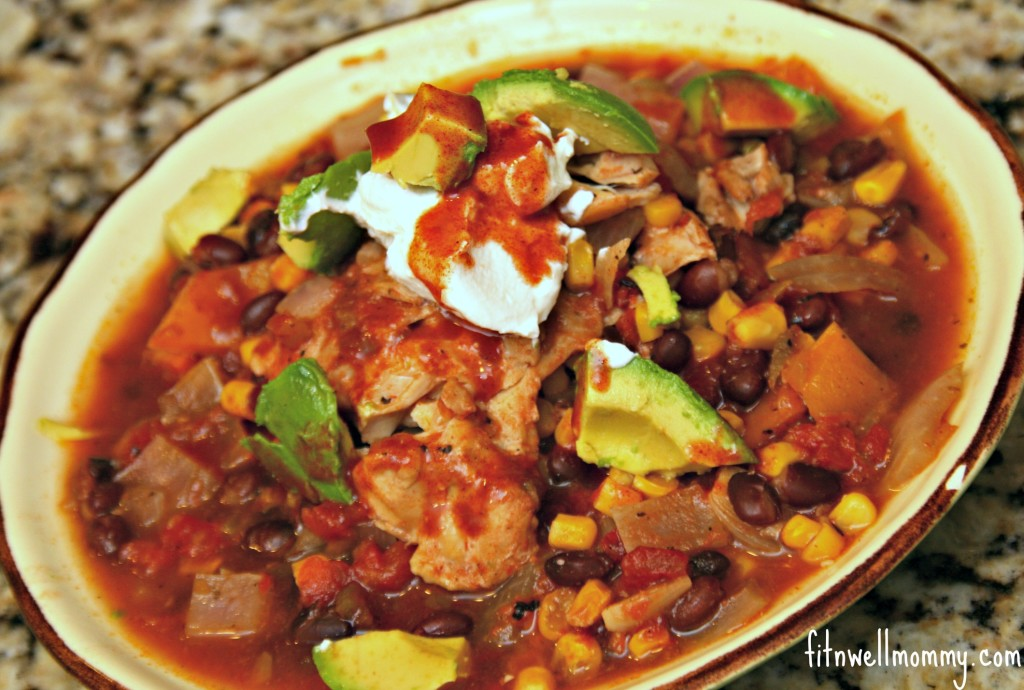 Mexican Chicken in the Crock Pot
