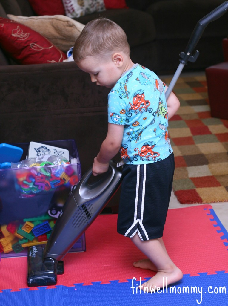 "My little ""Cleaning Assistant!"""