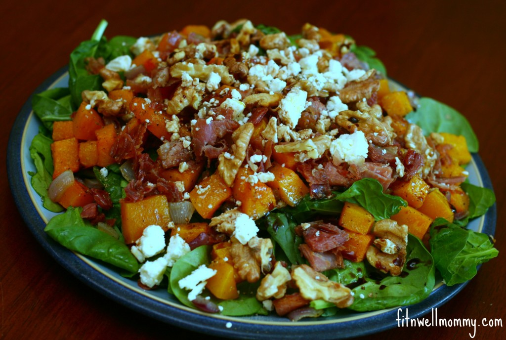 Savory Roasted Butternut Squash Salad