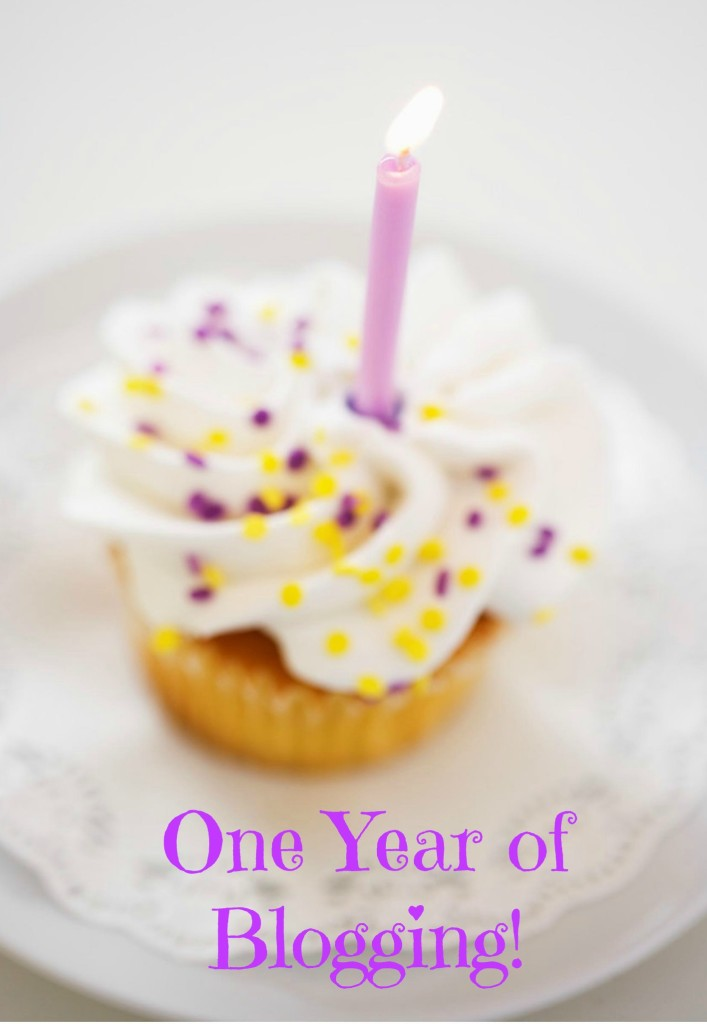 One Year Blog Anniversary