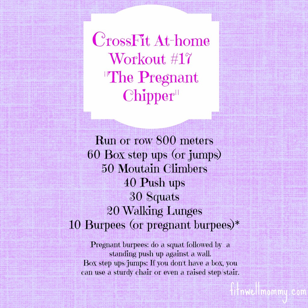 CrossFit At-home Workout 17