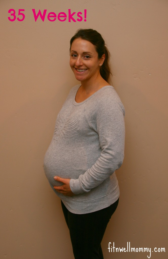 Pregnancy Update - 35 Weeks!