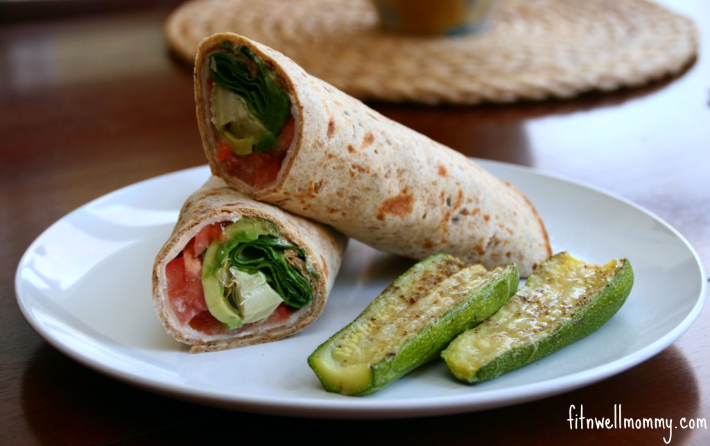 Mega wrap with P28 High Protein Flat bread