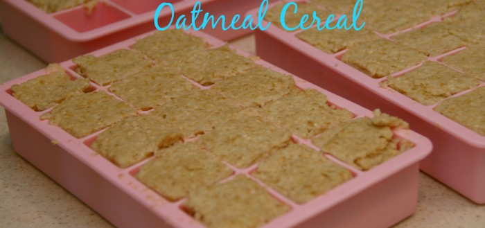 how to make baby oatmeal cereal