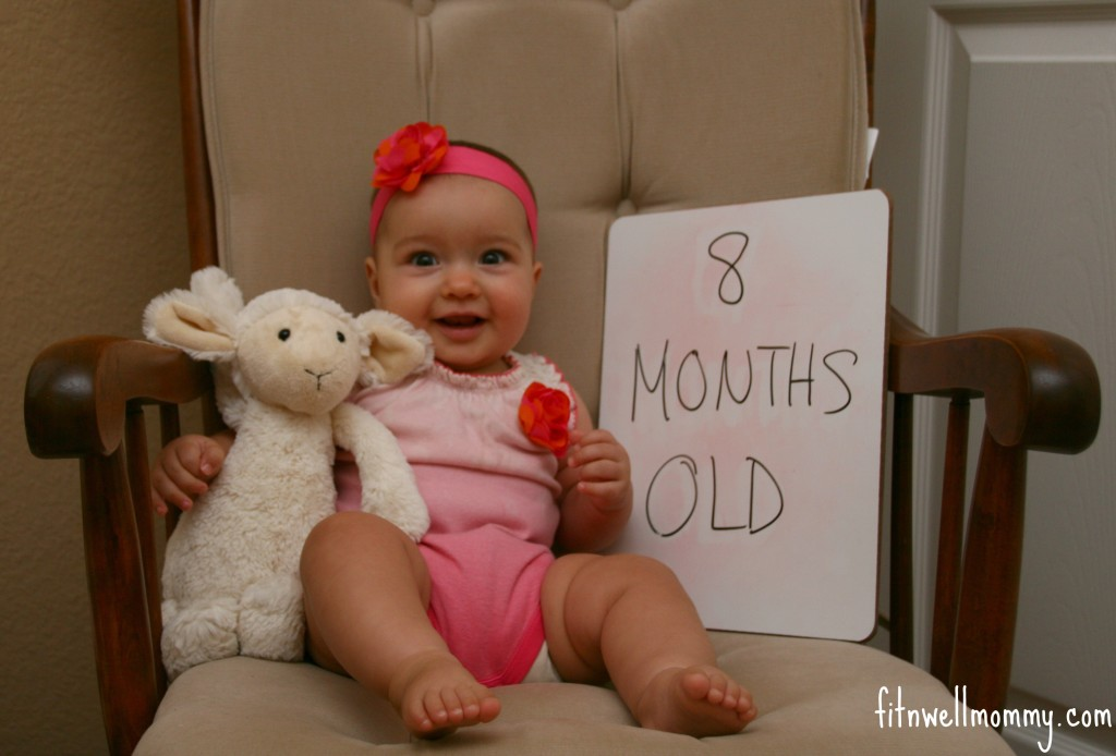 8 months old baby