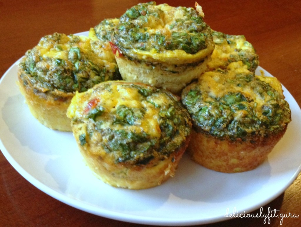 Mini frittatas - deliciously FIT