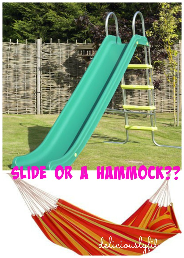 slide vs. hammock
