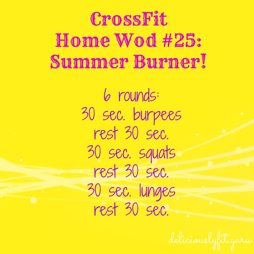 CrossFit Home Wod 25