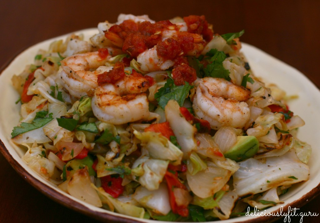 Grilled Cabbage Salad