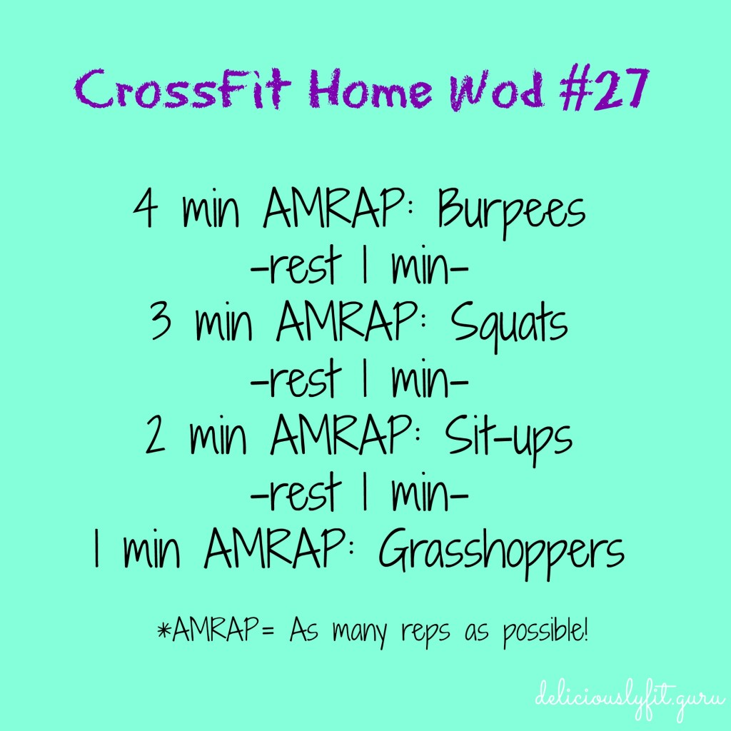 CrossFit Home Wod #27