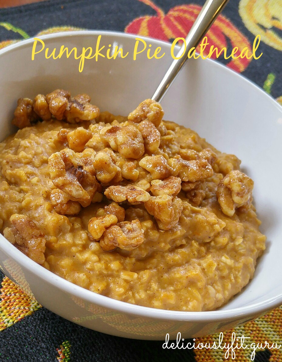 Pumpkin Pie Oatmeal (Paleo-Friendly!)
