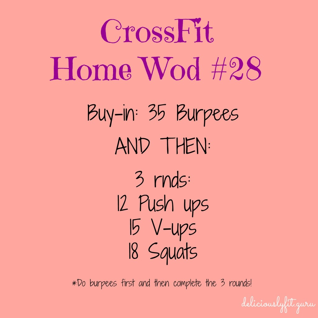 CrossFit Home Wod #28