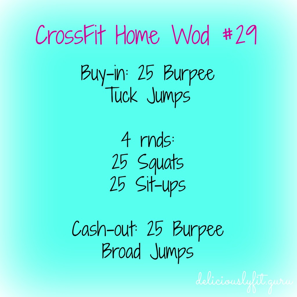 CrossFit Home Wod #29