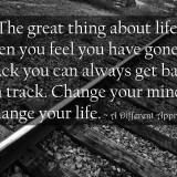 change your life quote