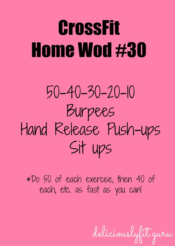 CrossFit Home Wod 30