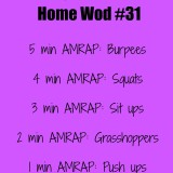 CrossFit Home Wod 31